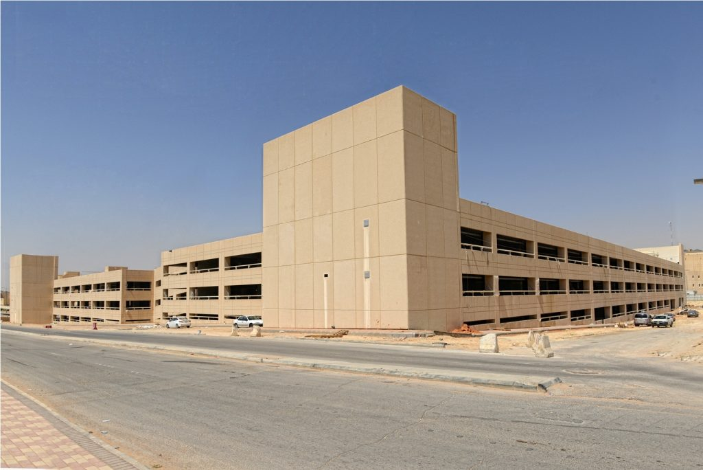 Parking Building for Prince Sultan Culture Center at King